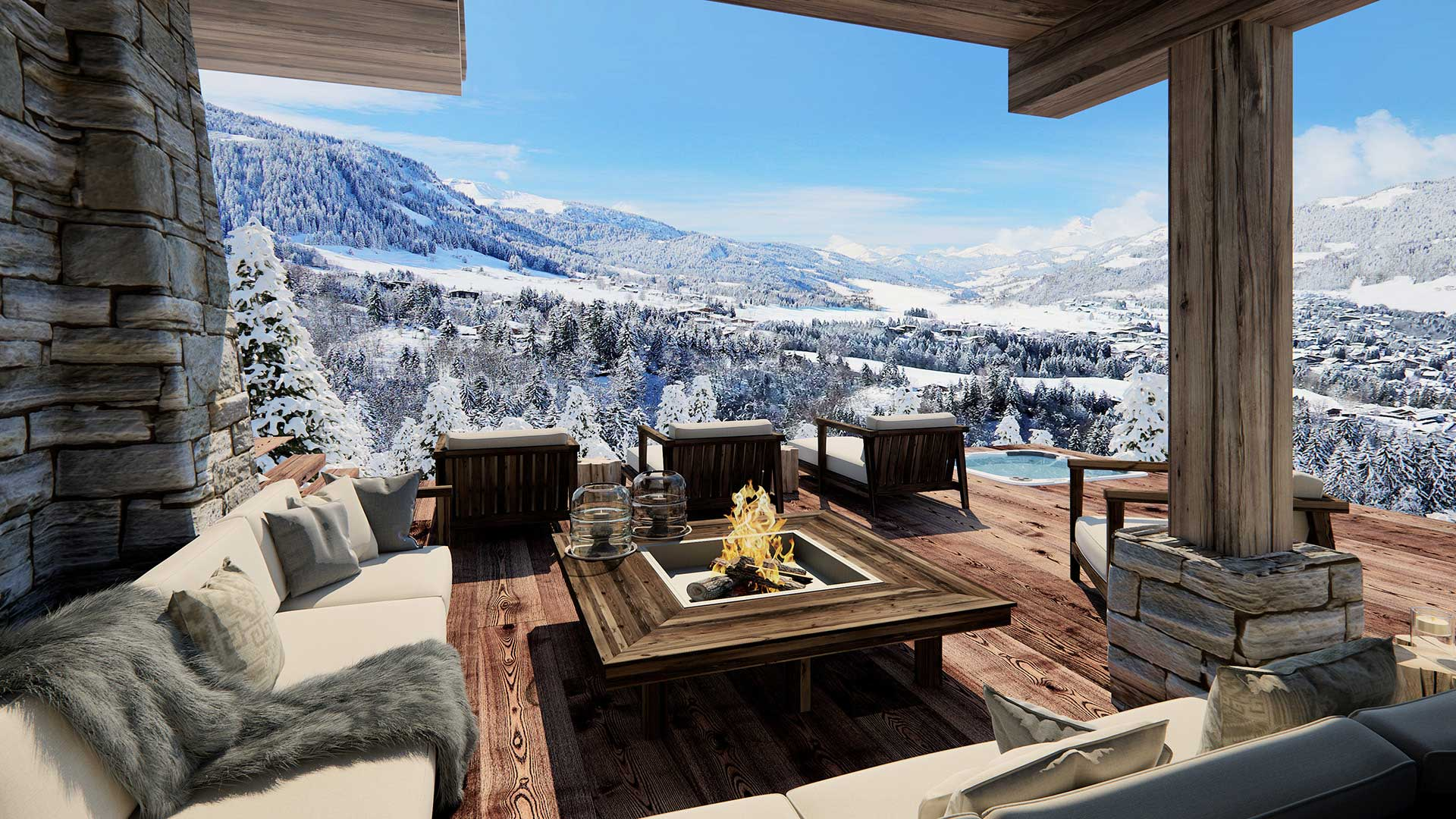 Stunning Chalet Terrasse Pictures - Yourmentor.info - yourmentor.info