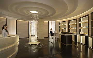 3D Photo interior : Luxurious spa.