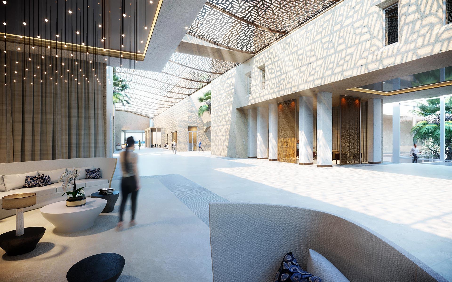 Architecte D Intérieur Cannes création 3d d'intérieur de palace à cannes - concours